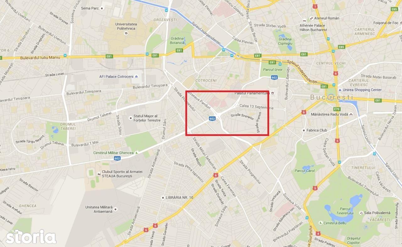 Teren de Vanzare, Bucuresti, Sectorul 5, 13 Septembrie - Foto 1