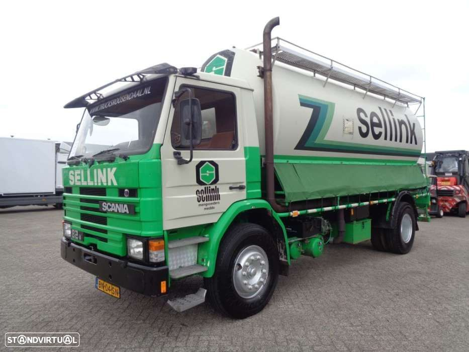 Scania 82M 190 + Manual + tank 5 parts + KM!! - 1