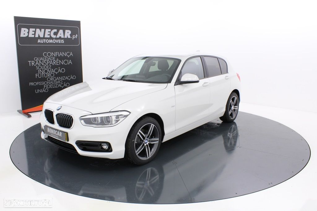 BMW 116 d Efficient Dynamics Line Sport / Vidros Escurecidos / JLL17 - 1