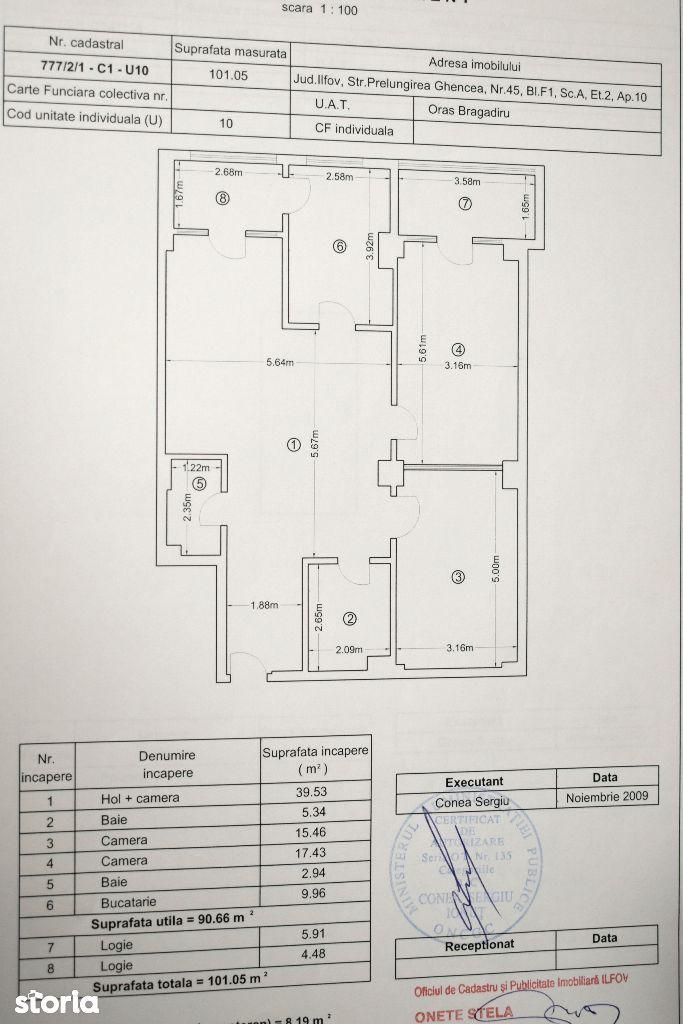 Apartament de vanzare, Ilfov (judet), Strada Prelungirea Ghencea - Foto 14