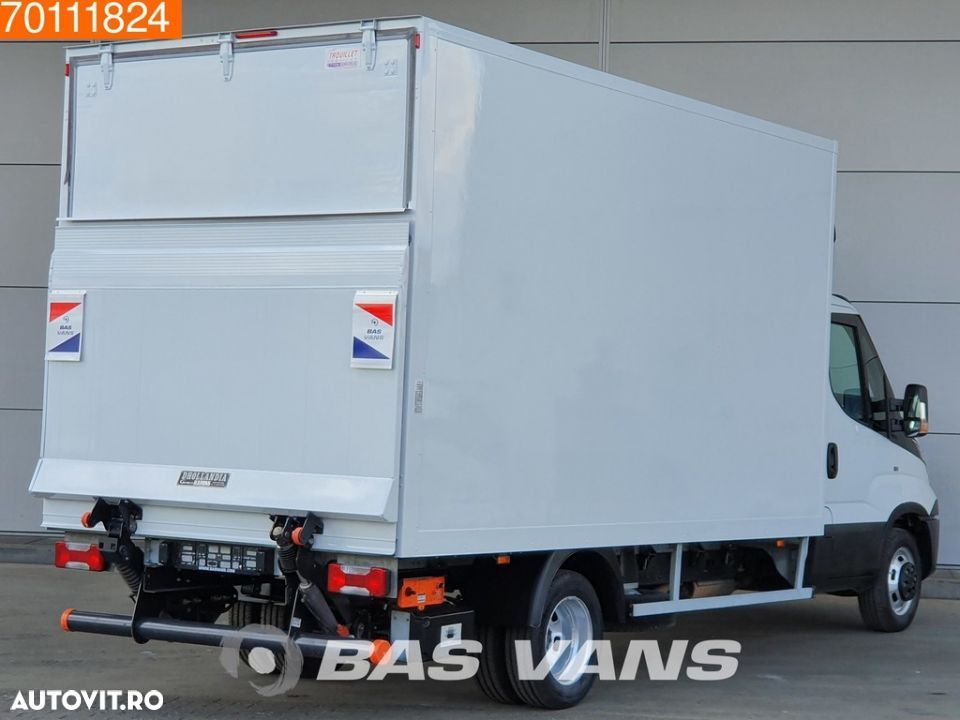 Iveco Daily 35C16 160pk Bakwagen Laadklep Koffer LBW 19m3 Airco Cruise - 5