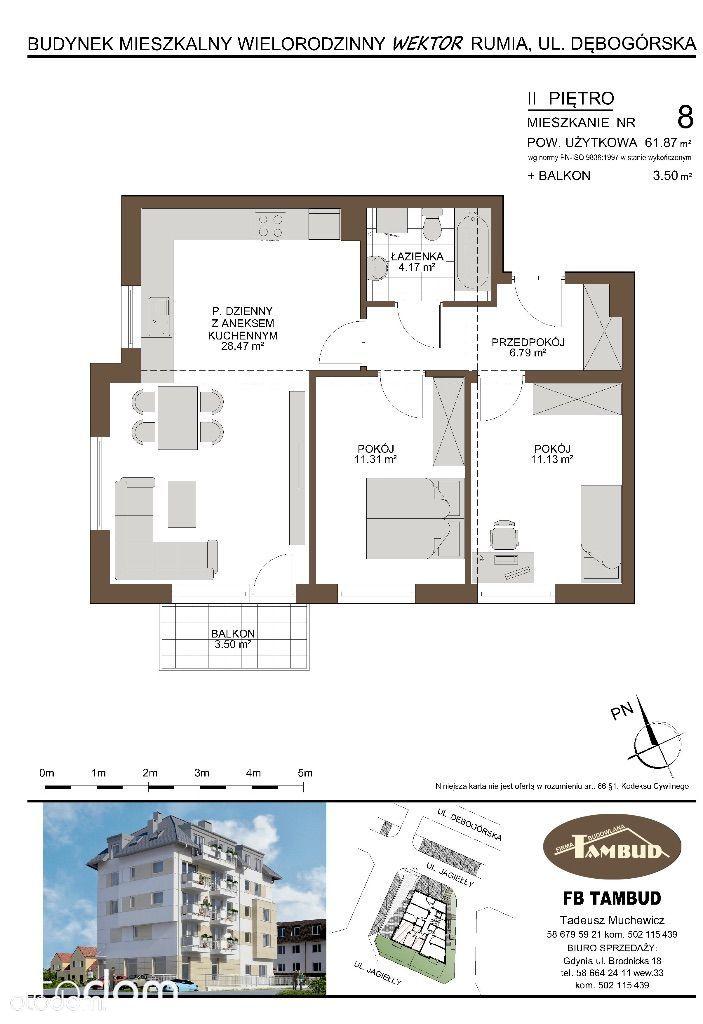 Mieszkanie na sprzedaż, Rumia, wejherowski, pomorskie - Foto 1016