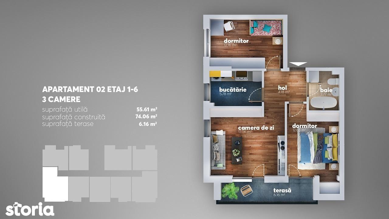Apartament de vanzare, București (judet), Intrarea Adierii - Foto 5
