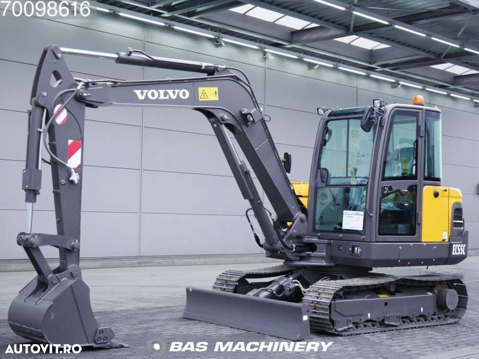 Volvo EC55C New unused 2018 machine - 1