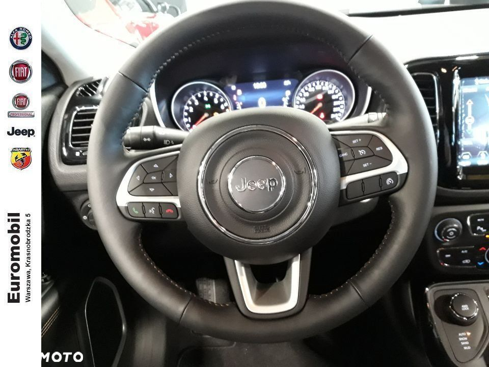 Jeep Compass , 2019r. Limited 1,4 170 KM 4x4 AT9 - 15
