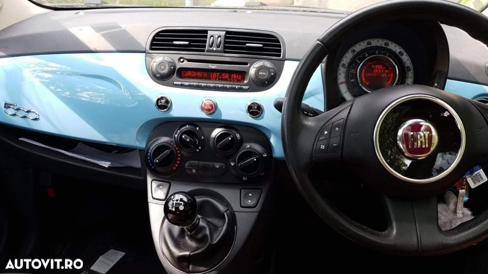 airbag pasager fiat 500 facelift - 2