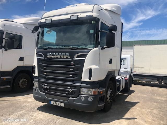 Scania V8 R500 CX MANUAL - 1