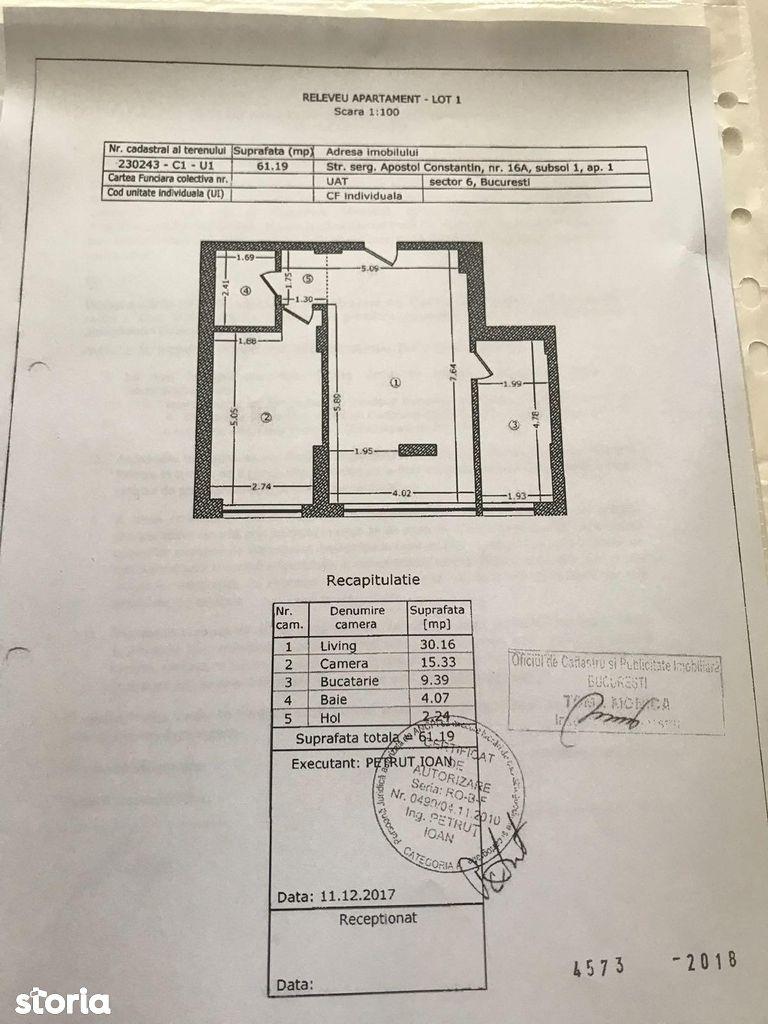 Apartament de inchiriat, Bucuresti, Sectorul 6, Drumul Taberei - Foto 4
