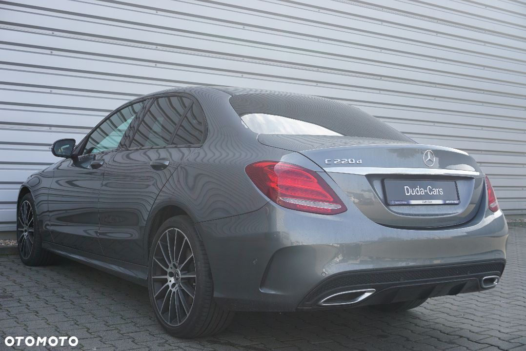 Mercedes-Benz Klasa C 220d AMG Led Kamera Night KeylessGo Salon PL Duda Cars Wroclaw - 6