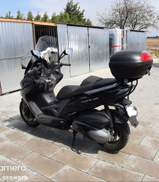 Kymco Xciting KYMCO XCITING 400i ABS automat, led, kufer, owiewka Super stan - 1