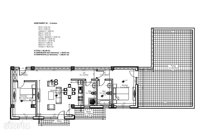 Apartament de inchiriat, Ilfov (judet), Otopeni - Foto 11