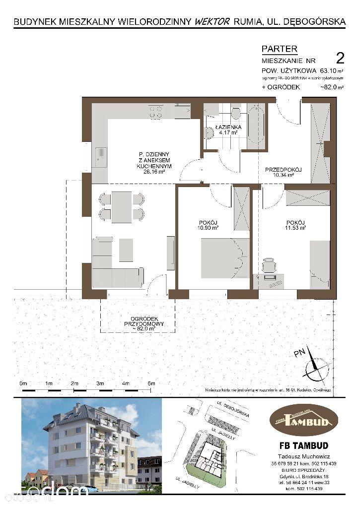 Mieszkanie na sprzedaż, Rumia, wejherowski, pomorskie - Foto 1010