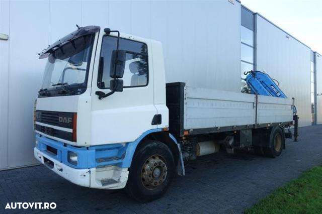 DAF CF75.270 4X2 MANUAL WITH ATLAS HLK105 - 1