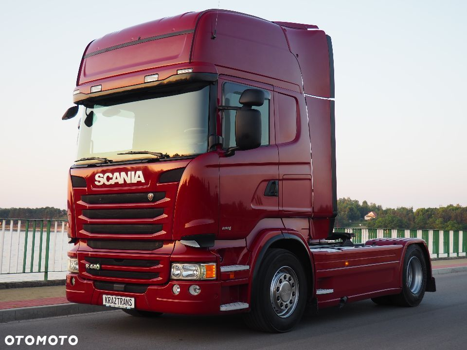Scania R440 EURO6 PDE 2013 STREAMLINE IDEALNA FULL - 1