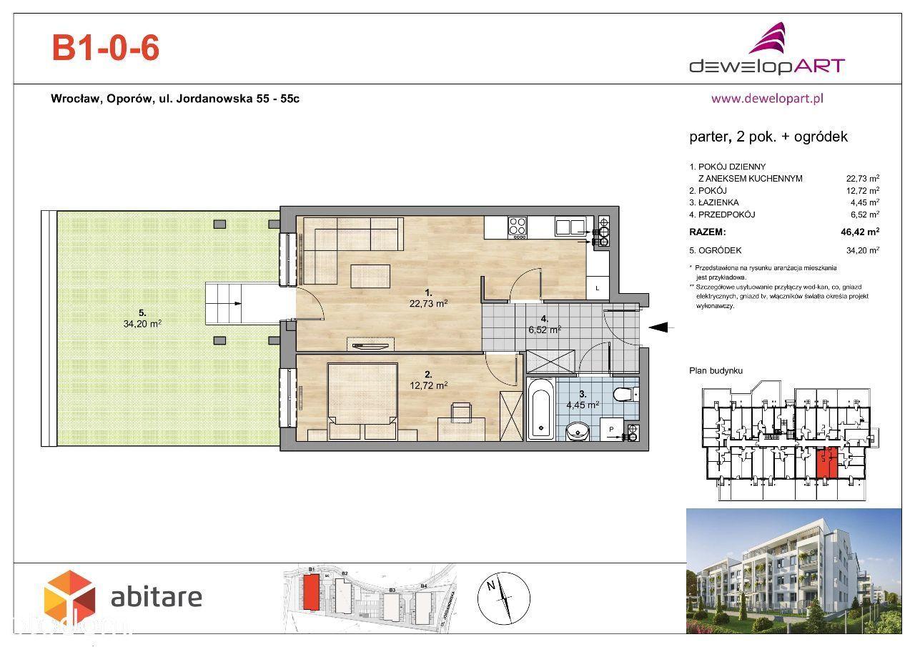 Mieszkanie na sprzedaż, Wrocław, Oporów - Foto 2