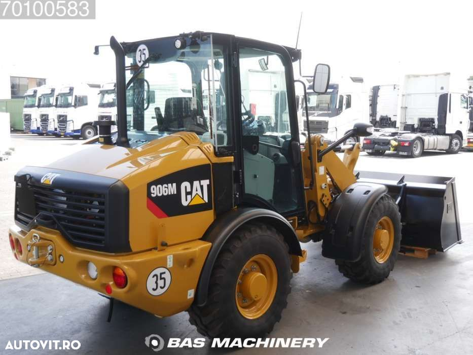Caterpillar 906 M Bucket and forks - ride controle - warranty - 5