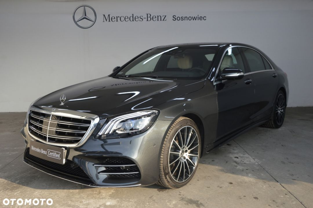 Mercedes-Benz Klasa S d 3.0 340KM 4Matic BlueTec Pakiet AMG/Exclusive - 1