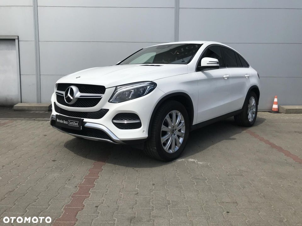 Mercedes-Benz GLE 350d coupe 4x4 fv 23% salon polska od dealera - 1