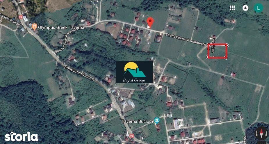 Teren de Vanzare, Iași (judet), Șoseaua Bucium - Foto 1