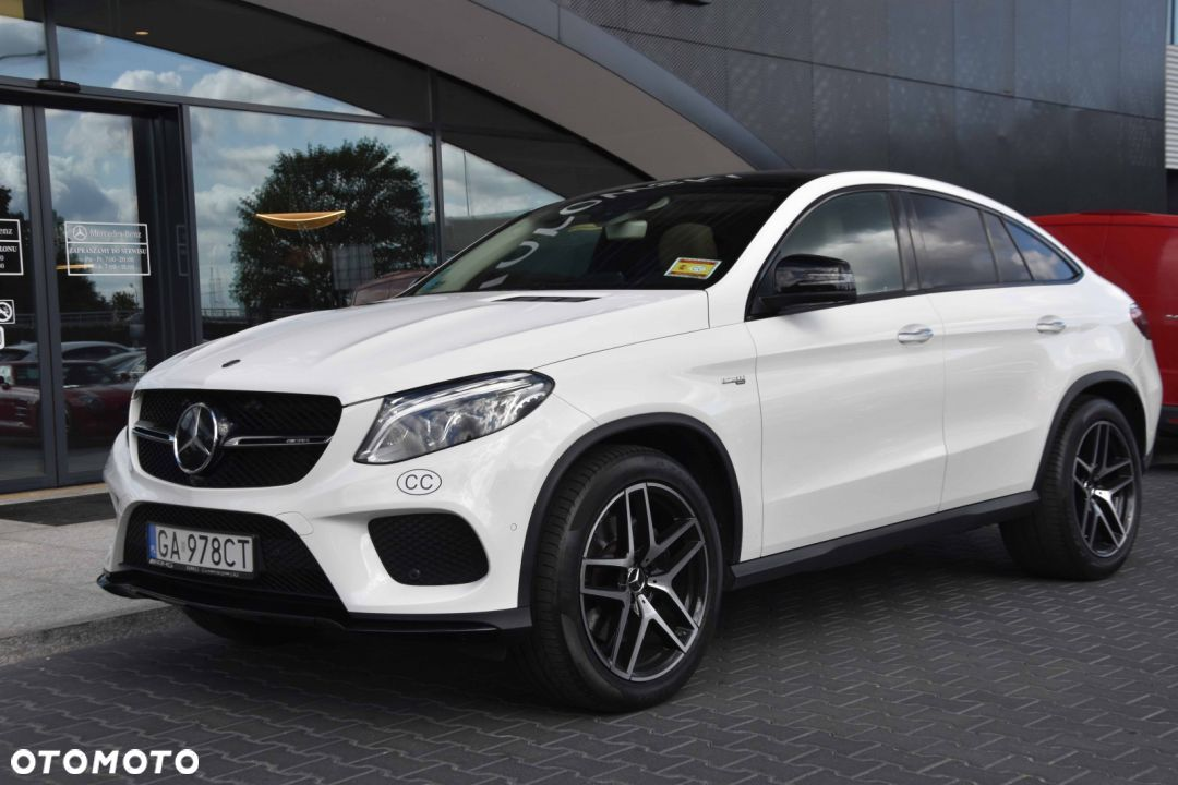 Mercedes-Benz GLE GLE 450 AMG Coupe, DEMO, Salon Pl, gwarancja - 18