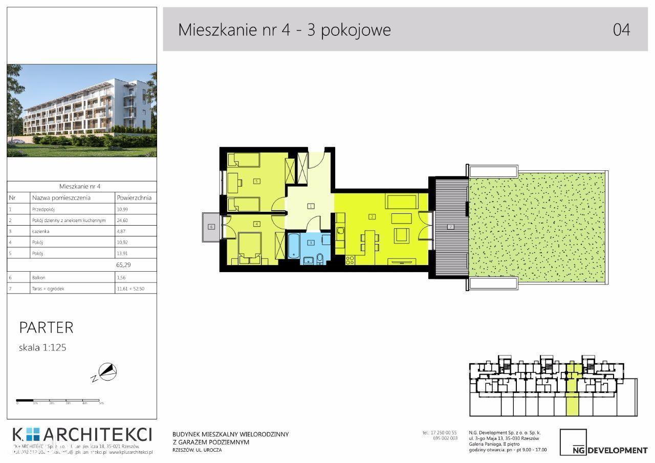 Mieszkanie na sprzedaż, Rzeszów, Biała - Foto 1
