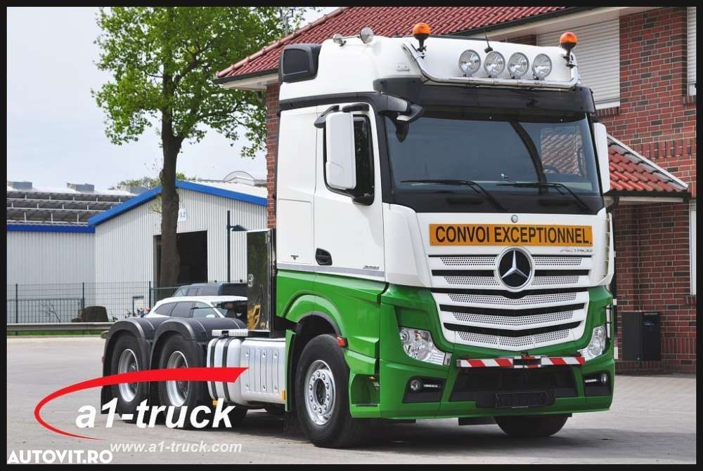 Mercedes-Benz 2658 LS 6X4 F 16 Big Space, 120 t.,Schwerlast 6x4 - 1