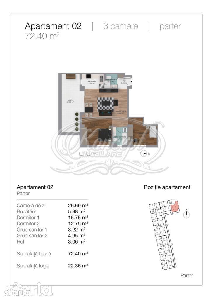 Apartament de vanzare, Cluj-Napoca, Cluj, Gheorgheni - Foto 15