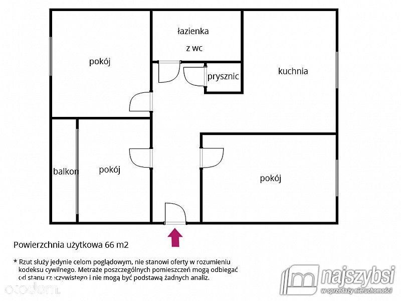 Mieszkanie na sprzedaż, Recz, choszczeński, zachodniopomorskie - Foto 14