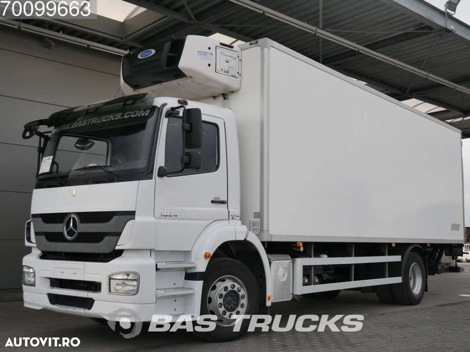 Mercedes-Benz Axor 1824 L 4X2 German-Truck Ladebordwand Euro 5 - 1
