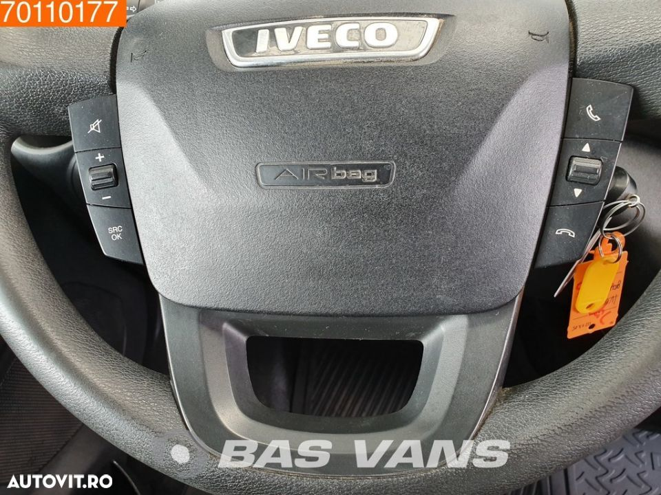 Iveco Daily 35S17 3.0L 170pk Hi Matic Automaat Luchtvering Airco L2H2 12m3 Airco Trekhaak Cruise - 14