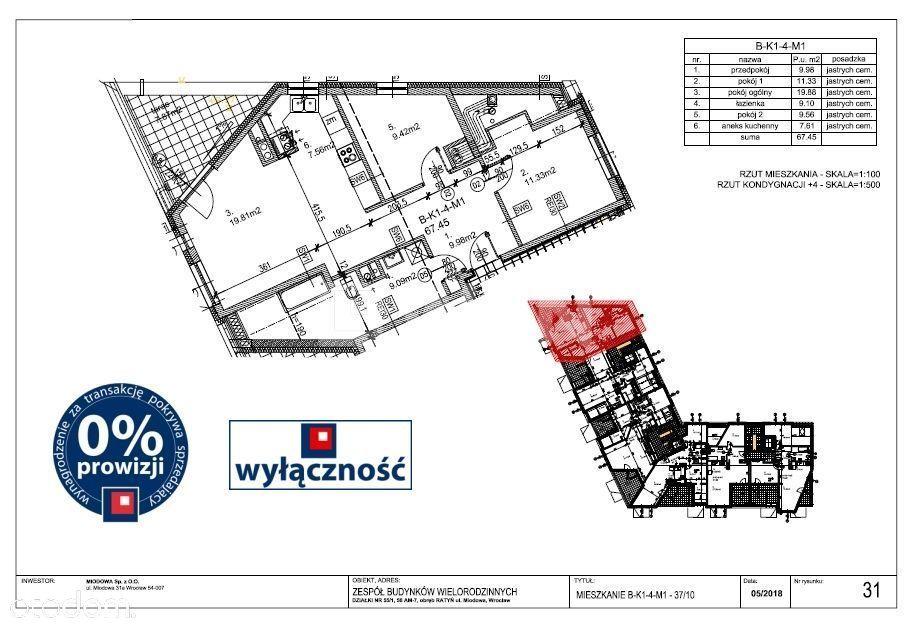 Mieszkanie na sprzedaż, Wrocław, Fabryczna - Foto 1