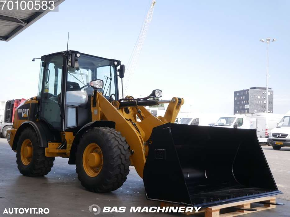 Caterpillar 906 M Bucket and forks - ride controle - warranty - 3
