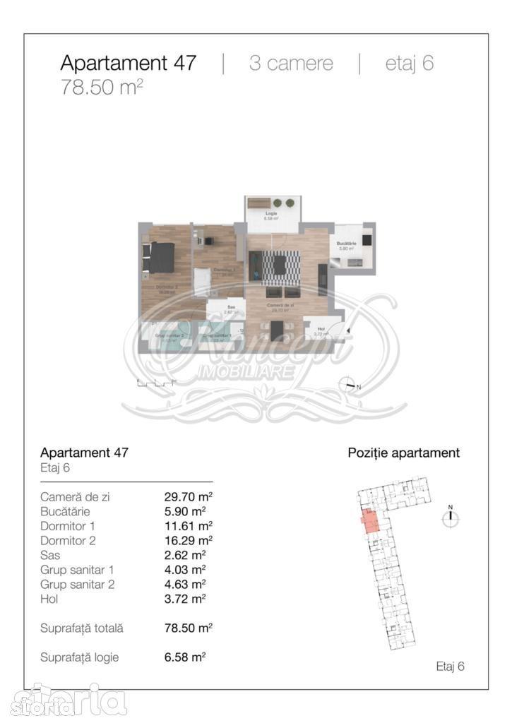Apartament de vanzare, Cluj-Napoca, Cluj, Gheorgheni - Foto 4