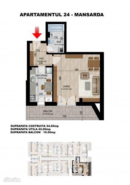 Apartament de vanzare, Ilfov (judet), Strada Freamătului - Foto 8