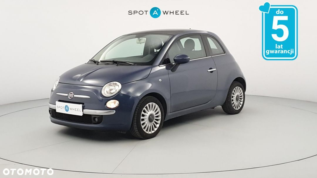 Fiat 500 0,9 Turbo panorama, start-stop, czujniki parkowania. - 1
