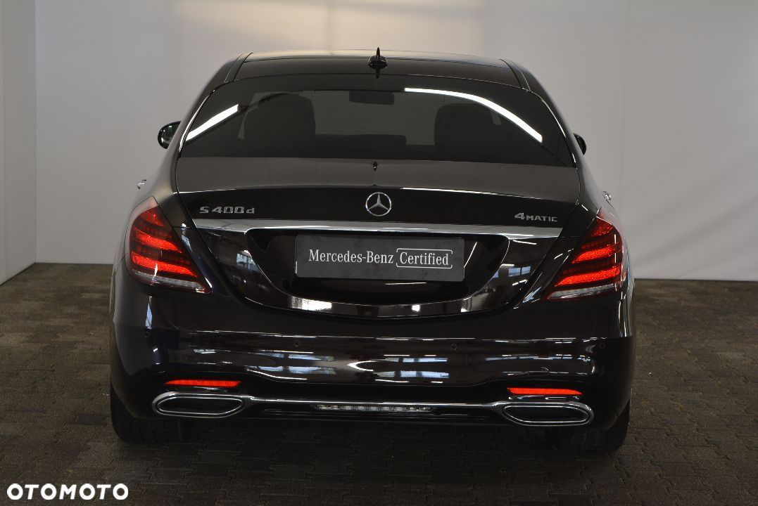 Mercedes-Benz Klasa S Rata 4899 zł msc 400d L 4M AMG Kamera 360 Head Up Panorama F Vat23% - 5