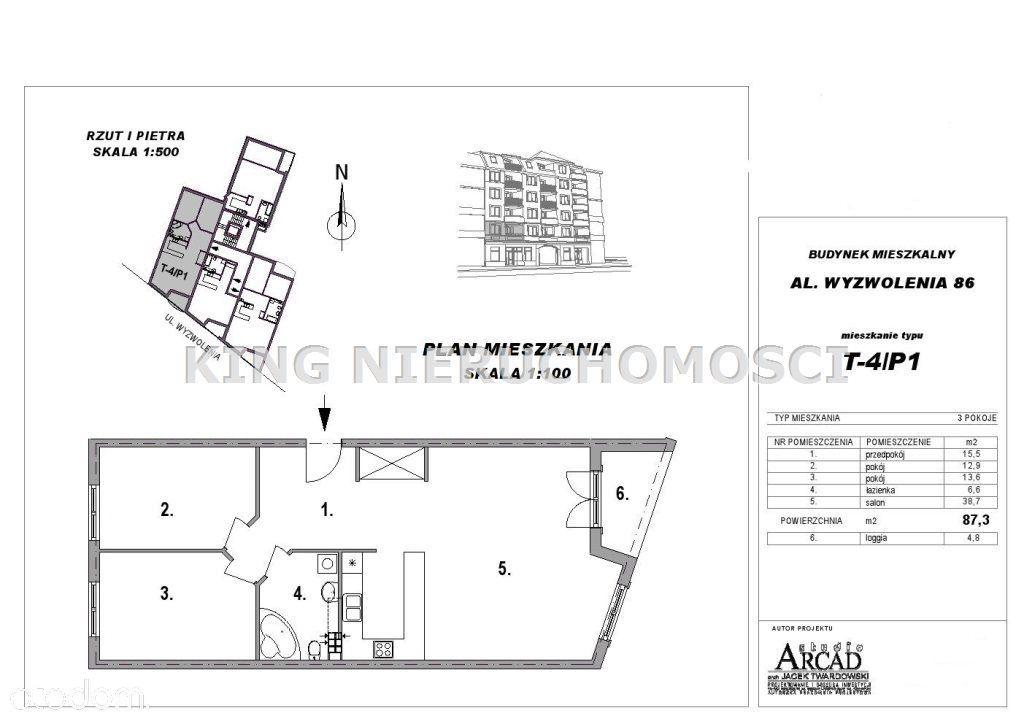 Mieszkanie na sprzedaż, Szczecin, Niebuszewo - Foto 6