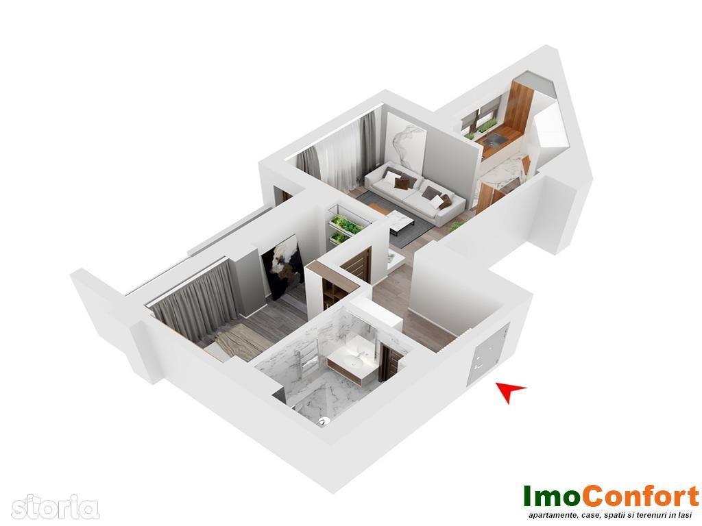 Apartament de vanzare, Iasi, Tudor Vladimirescu - Foto 11