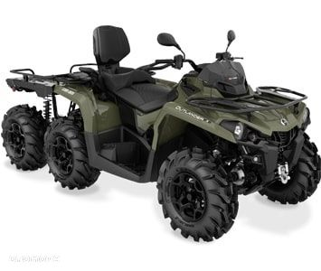 Can-Am Outlander MAX 6X6 450 PRO+ T Model 2019 - 1
