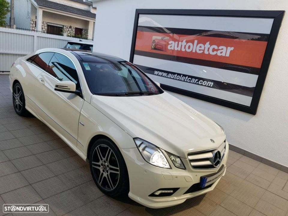 Mercedes-Benz E 250 CDI COUPE AMG EDITION - 43