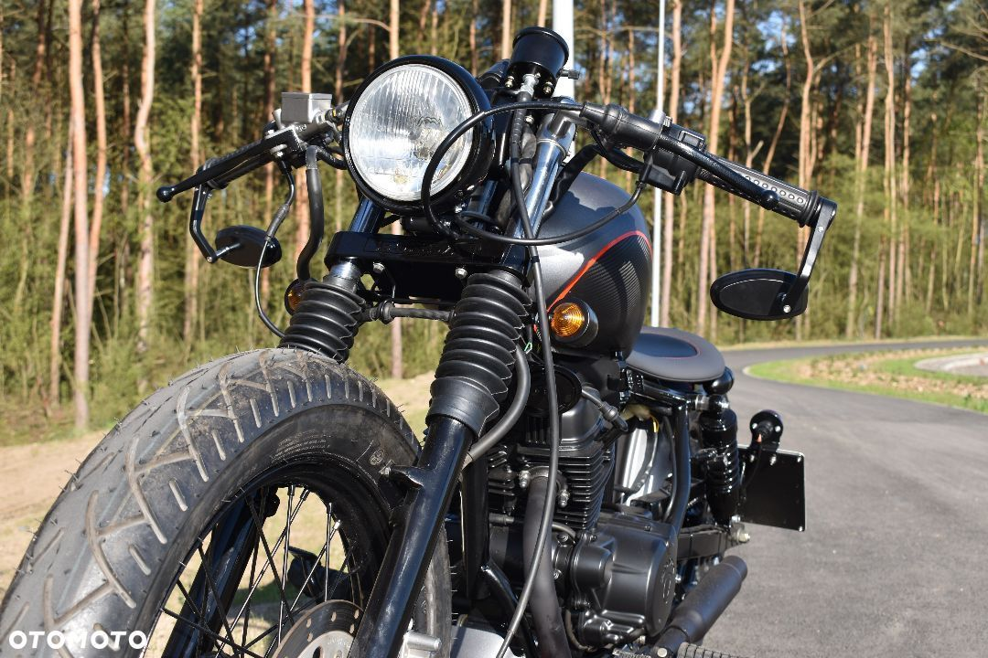 Honda CA Runner Custom Bobber Cafe 125 cc kat B A1 vt xv ybr bn shadow chopper - 1