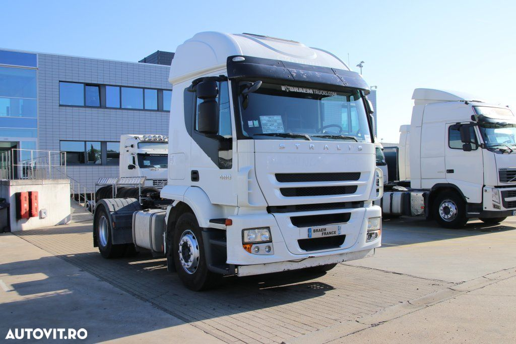 Iveco STRALIS 480+ Manual + Hydr. - 263.600 km ! - 3