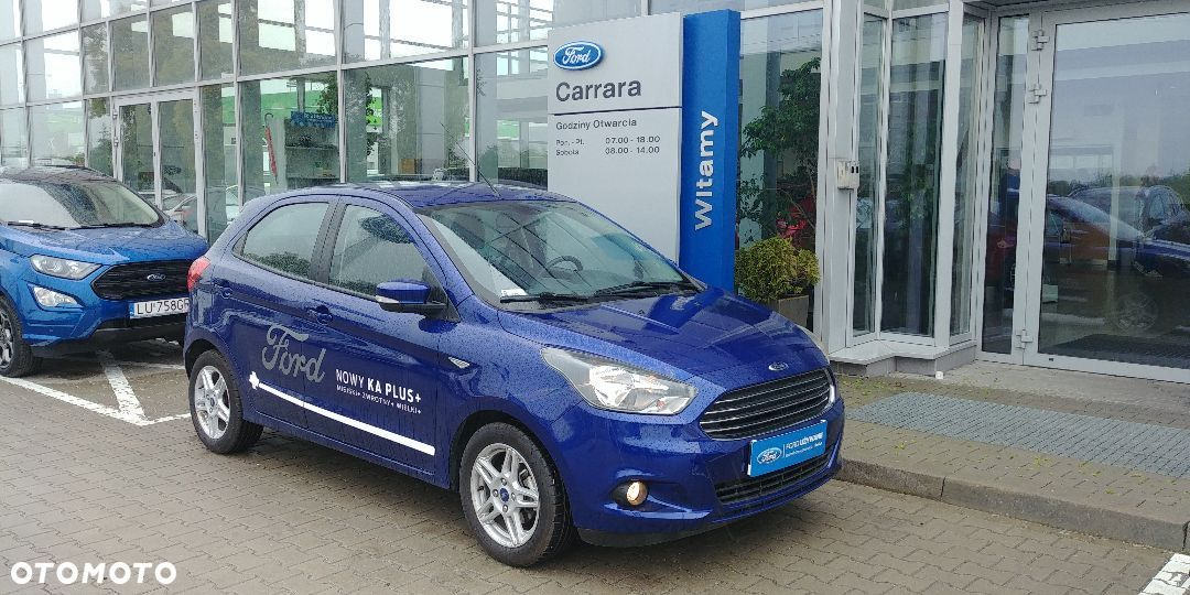 Ford KA 1,1 benz. 85KM DEMO, Gwarancja. DEALER FORDA - 1
