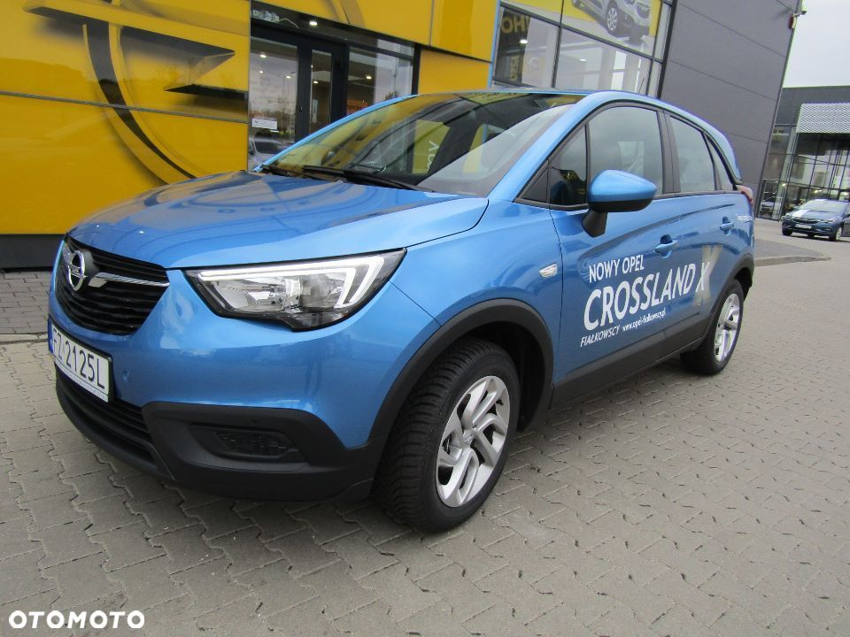 Opel Crossland X DEMO DEALERA ENJOY 1.2 110KM Super okazja! - 2