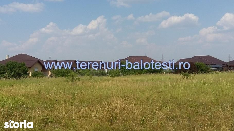 Teren de Vanzare, Balotesti, Bucuresti - Ilfov - Foto 8