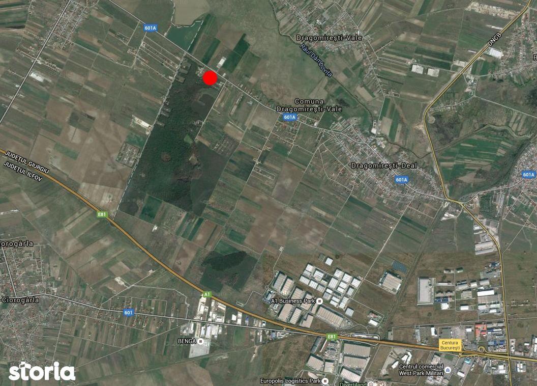 Teren de Vanzare, Ilfov (judet), Dragomireşti-Deal - Foto 1