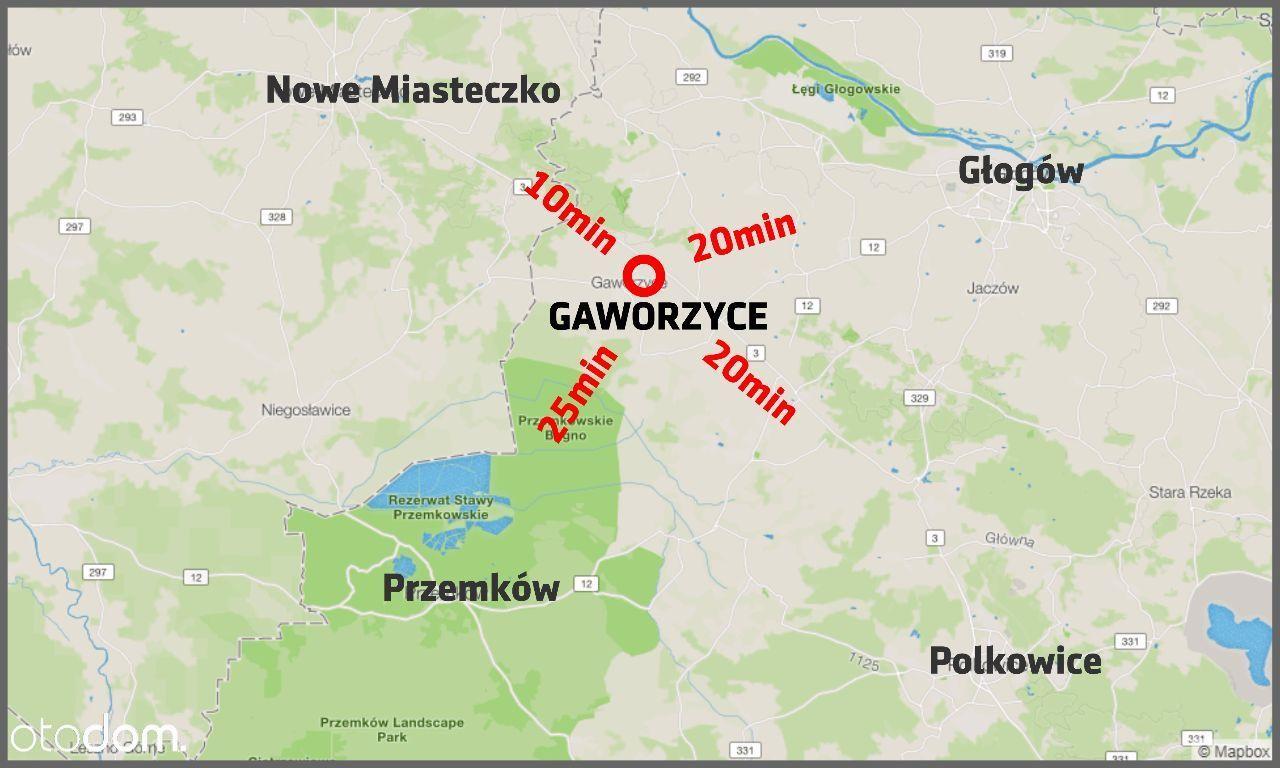 Działka na sprzedaż, Gaworzyce, polkowicki, dolnośląskie - Foto 3