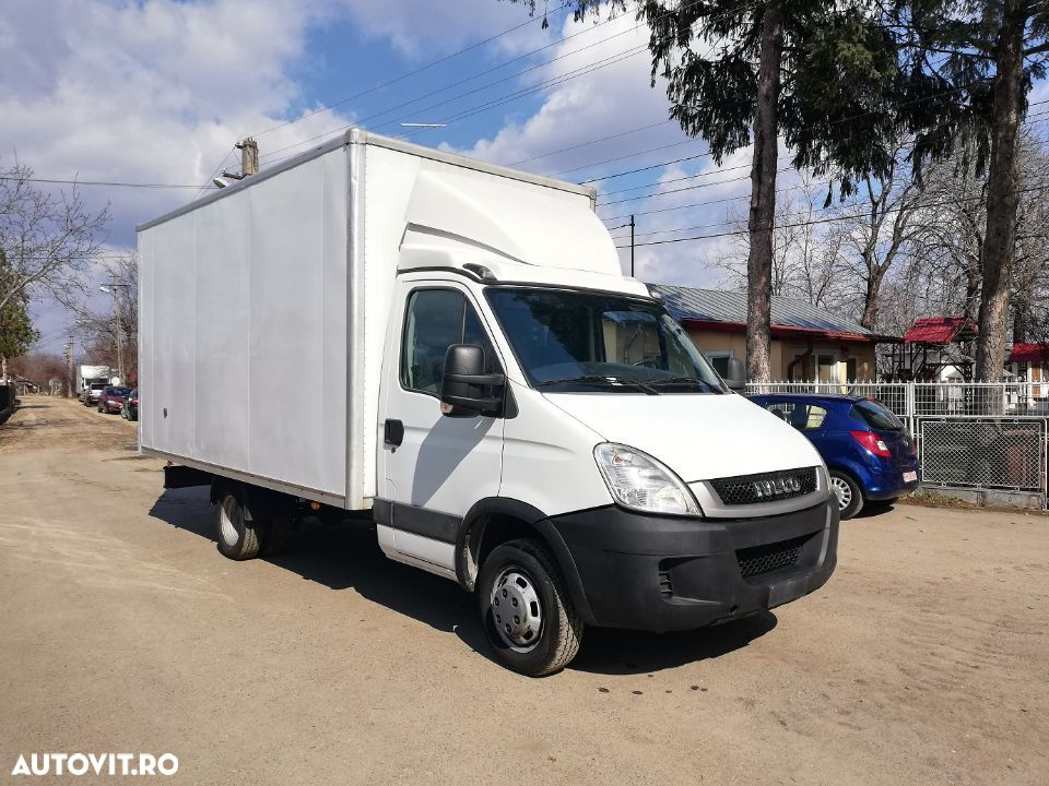 Iveco Daily 35C13 cu box inchis , import, clima , finantare leasing - 6