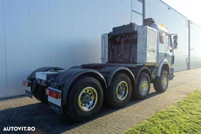 Mercedes-Benz Sk3350 8x4 Manual Full Steel Hub Redcution Retar - 3