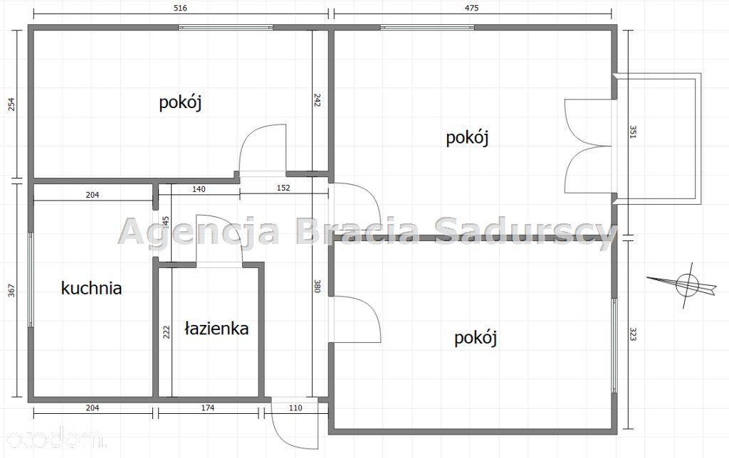 Mieszkanie na sprzedaż, Kraków, Dąbie - Foto 3